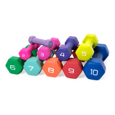 CAP Barbell Neoprene Coated Single Dumbbell Colored
