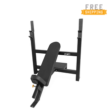 WF Athletic Supply Olympic Incline Bench