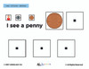 American Coins Identical Matching: Math Adapted Book: PAGES 23