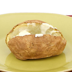 Baked Potato With Margarine   Visual  Recipe And Comprehension Sheets: Pages 23