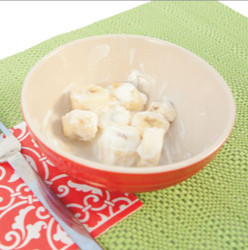 Banana Sour Cream Salad Visual  Recipe And Comprehension Sheets: Pages 27