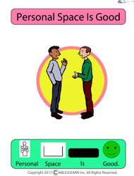 Free Social Story Personal Space Is Good, Free Autism Resources, Free Aba Resources, Free Teaching Materials,