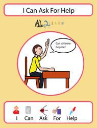 I Can Ask For Help Social Story: Pages 8