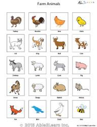 PECS - Farm Animals
