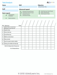 Data Sheet: Arriving at School (Bus and Car): 1 Page