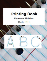 Printing Book - Uppercase Alphabet