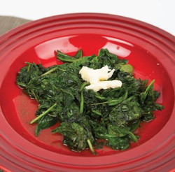 Garlic Spinach Stir Fry with Margarine  With Comprehension Sheets Pages 21