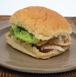 Chicken with Cheese, Lettuce & Tomato Sandwich Visual  Recipe & Comprehension Sheets: 28 Pages