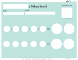 Money Token Board - Adding Dimes B:  No Visual Support: 2 Pages
