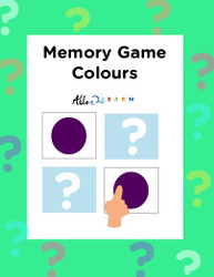 Memory  Game: Colour: 5 Games: 12 Pages