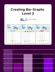 Learning Bar Graphs Level 2: Pages 12