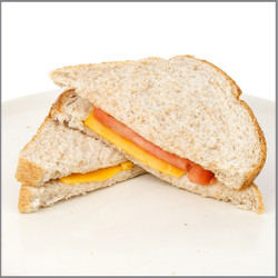 Lunch Meat Cheese & Tomato Sandwich Visual Recipe And Comprehension Sheets: Pages 18