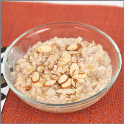 Oatmeal and Almonds- Microwave with Water Visual Recipe: Comprehension Sheets: 20 Pages
