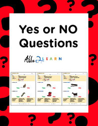 ANSWER YES and NO QUESTIONS: COMPREHENSION & LANGUAGE DEVELOPMENT 50 Pages