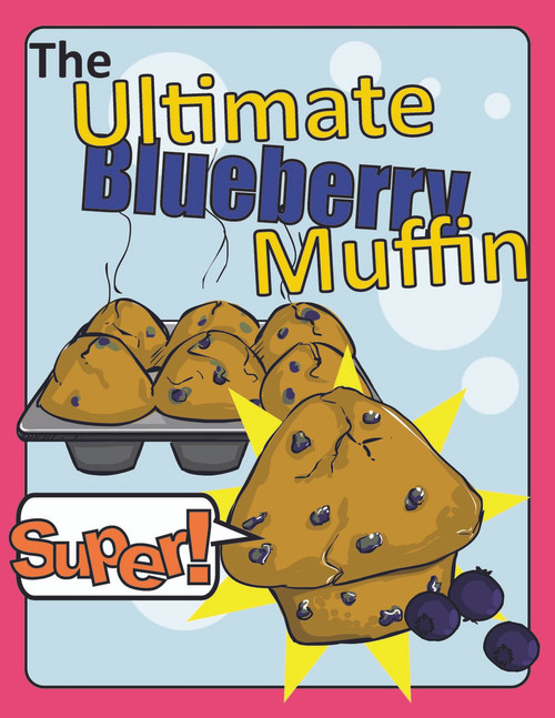 Blueberry Muffin  Recipe Starring Niam Jain Autism Artist: Pages 23