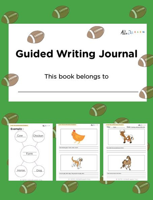 Guided Writing  Journal - Boys Version