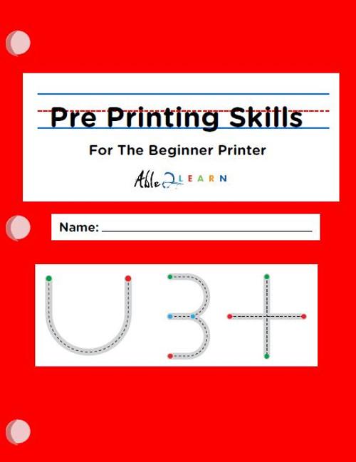 Pre-Printing Skills - Beginner Printer