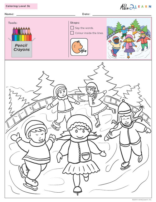 Colouring   Scenes - Pages 5