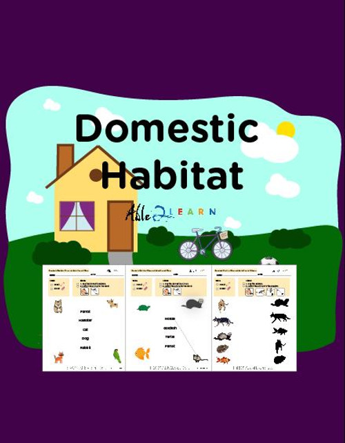 Learn About Habitat: Domestic Animals:  PAGES 67