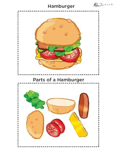 Learning Parts Of A Object Flashcards: Easy: 15 Pages
