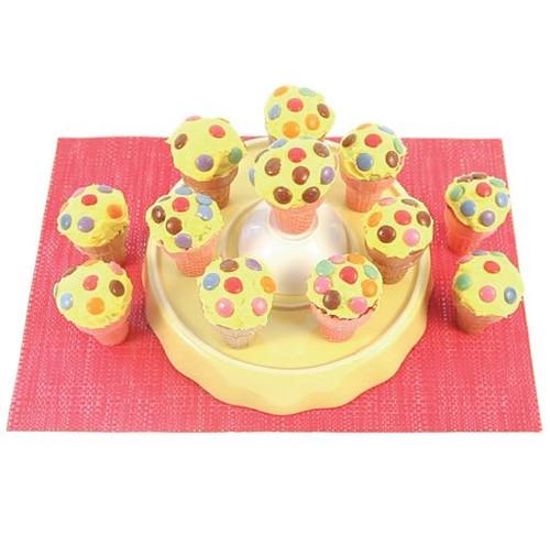 Vanilla Cone Cupcakes Visual Recipe & Comprehension Sheets: (Lv. 1) 35 Pages