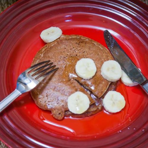Bran Banana Pancakes Visual Recipe And Comprehension Sheets: Pages 27