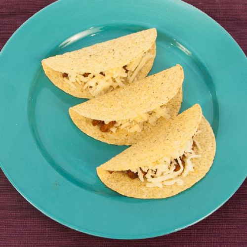 Meat Taco With Cheese Visual  Recipe And Comprehension Sheets: Pages 25