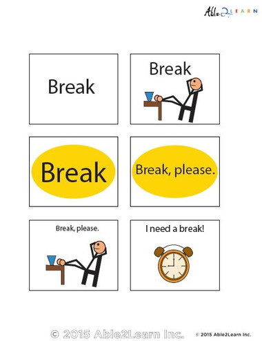 how to use break card