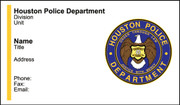 HPD Business Card #1