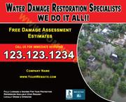 Flood Damage 05 EDDM Postcard
