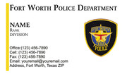 FWPD Business Card #1