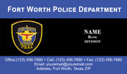 FWPD Business Card #3