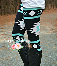 Mint Tribal Leggings
