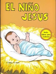 El niño Jesús (Libros para Colorear)