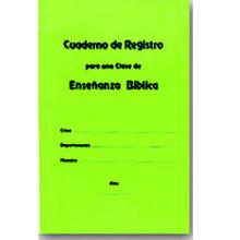Cuaderno de Registro