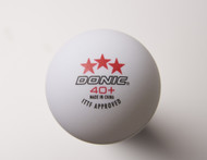 DONIC 40+ *** (12 Competition Table Tennis Balls)