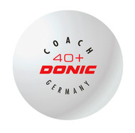 DONIC Coach 40+ (12 Training Table Tennis Balls)