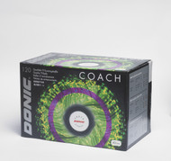 DONIC Coach (120 Training Table Tennis Balls) - White