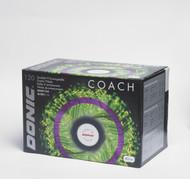 DONIC Coach (120 Training Table Tennis Balls) - White