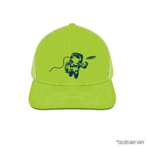 Neon Green Astro Trucker