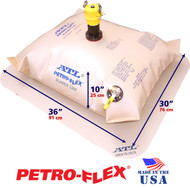 25 Gallon ATL Petro-Flex With Filled Dimensions