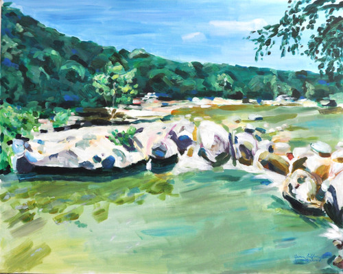 Barton Creek Greenbelt at Sculpture Falls (PRINT)