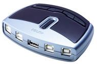 ATEN US421: 4 port USB 2.0 Peripheral Switch