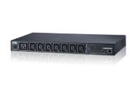 ATEN PE7208G: 1U, 15A 100-240V, NEMA6-15P, 8x C13, Outlet Monitoring