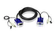 ATEN 2L-2402A: VGA/Audio Cable 6 ft