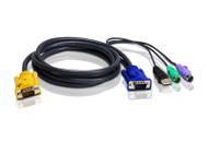 ATEN 2L-5302UP: PS/2-USB KVM Cable 1.8 meter