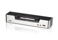 ATEN CS1642A: 2-port Dual Video Dual Link DVI KVMP Switch with Audio Support, Cables Included