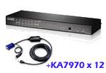 ATEN Altusen KH1516AiUKit: KH1508Ai with 12x USB adapter cable cables(KA7970)