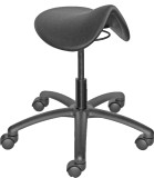 Saddle Style Seat Stool Chair Height Adjustable 350 lbs Rating -SS-100