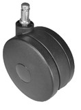 "Heavy Duty Chair Casters 4"" Wheel Diameter Rated 175 lbs Each  -CH-100"